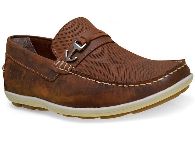 Sapato Masculino Ferricelli Yn46240 Camel
