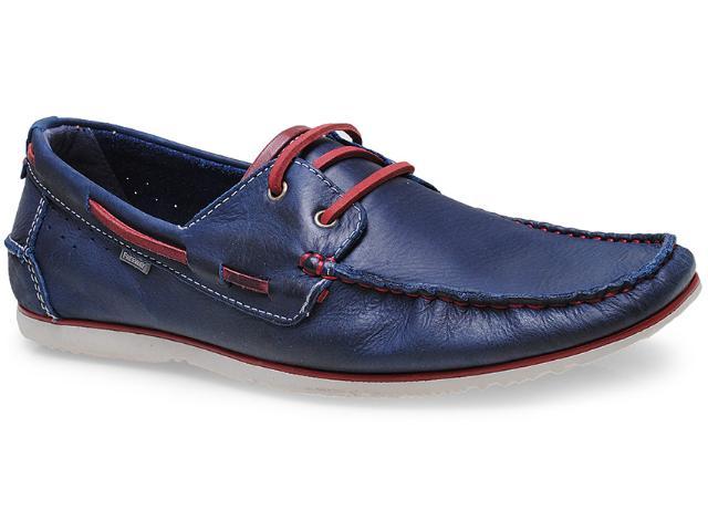 Sapato Masculino Free Way Escuna-1 Azul Cobalto