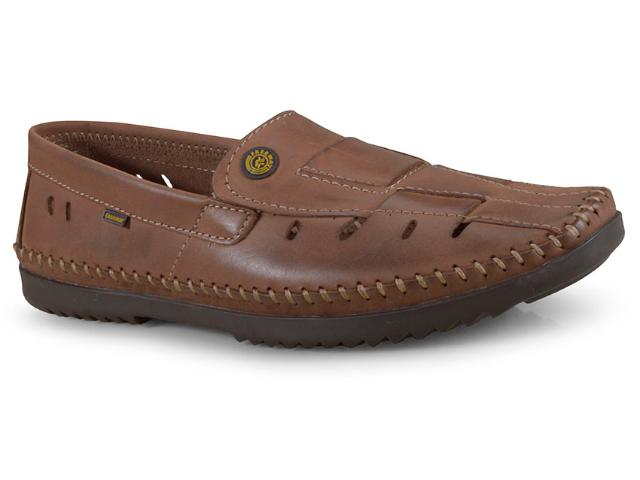 Sapato Masculino Free Way Logan-2 Wax Havana