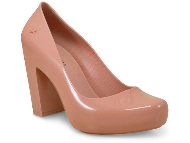 Sapato Feminino Grendene 17352 Zaxy Ferver  Caramelo