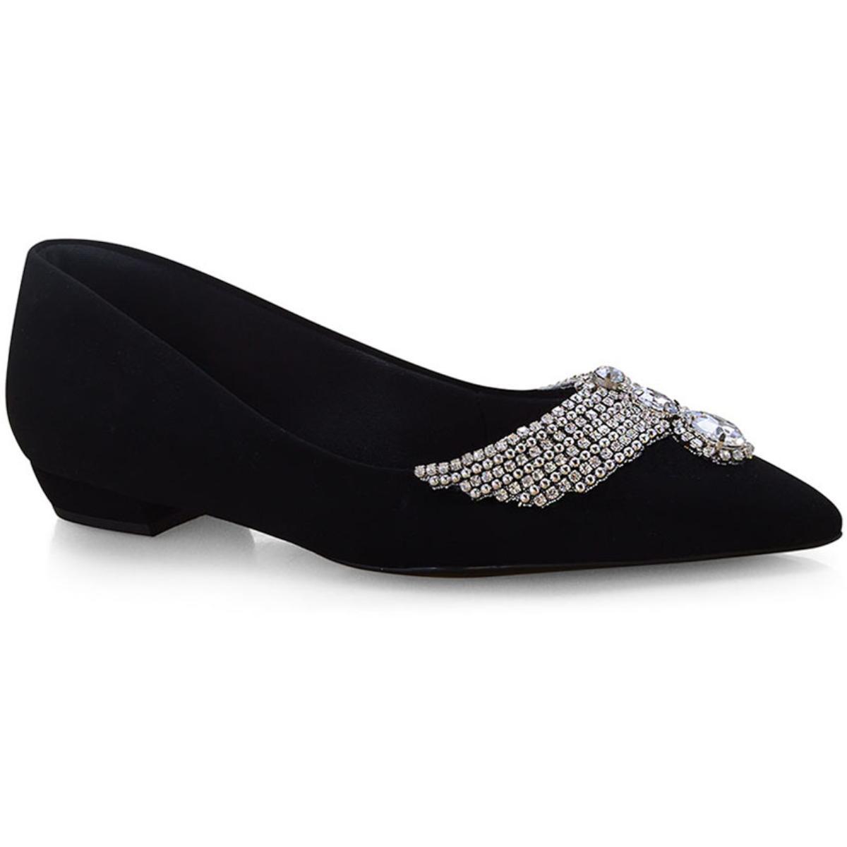 Sapato Feminino Invoice 100.029 Preto
