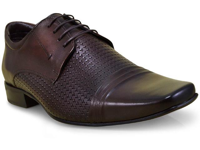 Sapato Masculino Jota pe 40771 Dark Brown