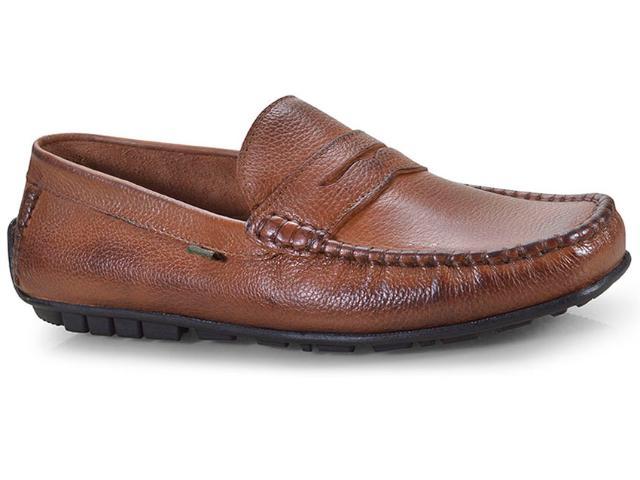 Sapato Masculino Kourt 4050 Capuccino