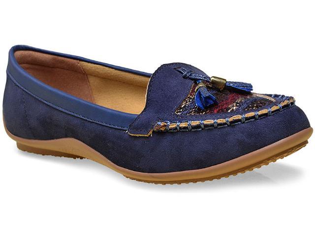 Sapato Feminino Mississipi X4374 Marinho