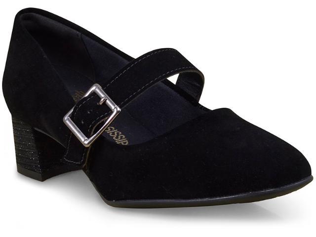Sapato Feminino Mississipi X6321 Preto