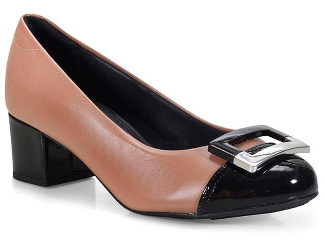 Sapato Feminino Modare 7316107 Nude/preto
