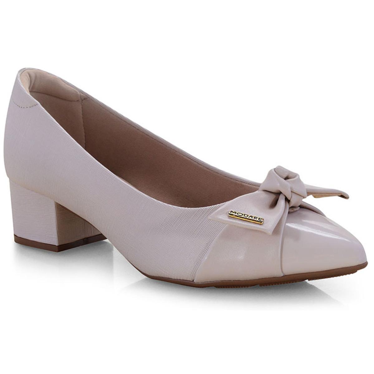 Sapato Feminino Modare 7340102 Creme