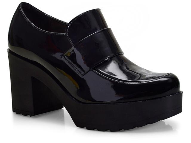 Sapato Feminino Moleca 5647101 Preto