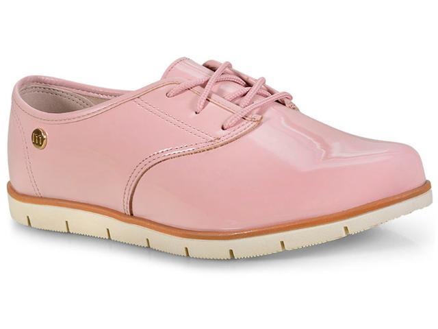 Sapato Feminino Moleca 5613304 Rosa/branco/camel