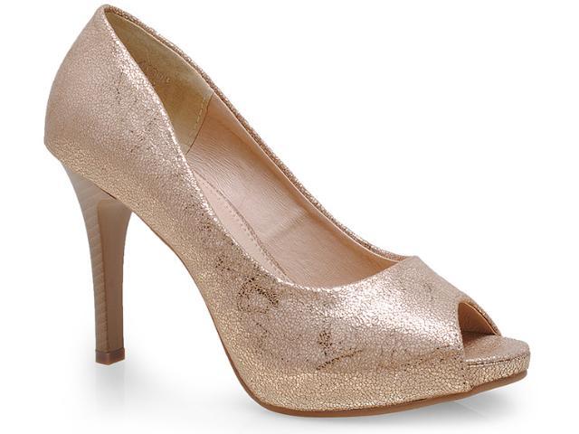 Sapato Feminino Mooncity 41303 Bege