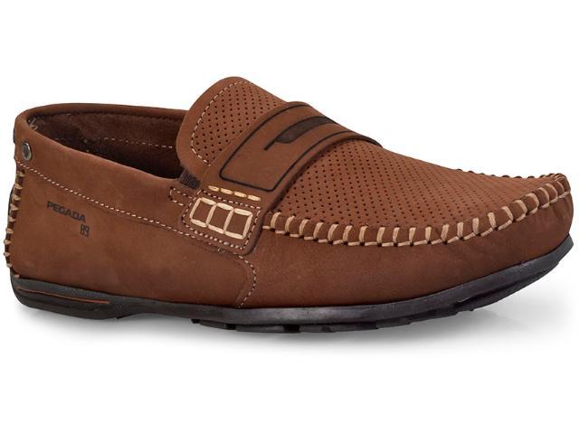 Sapato Masculino Pegada 140709-08 Pinhao/brown