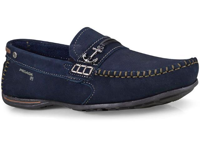 Sapato Masculino Pegada 140708-06 Marinho