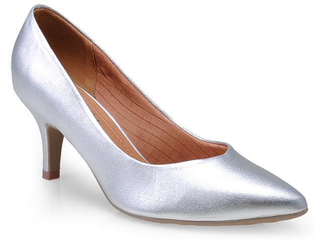 Sapato Feminino Piccadilly 745001 Prata