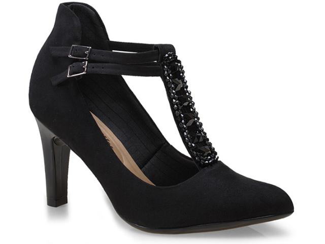 Sapato Feminino Piccadilly 722013 Preto