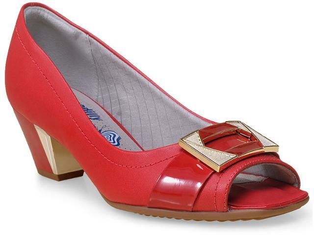 Sapato Feminino Piccadilly 714039 Vermelho