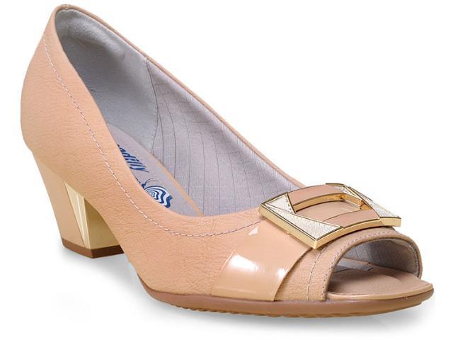 Peep Toe Feminino Piccadilly 714039 Bege
