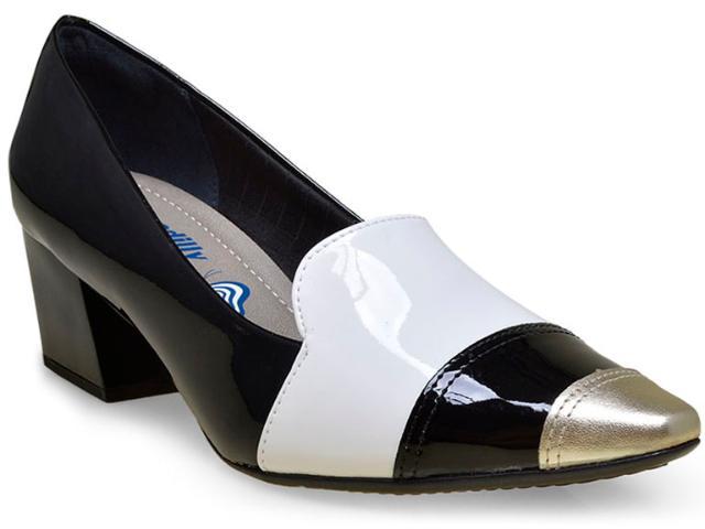 Sapato Feminino Piccadilly 744019 Preto/branco