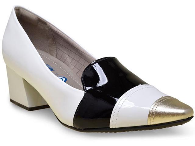 Sapato Feminino Piccadilly 744019 Branco/preto