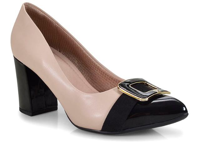 Sapato Feminino Piccadilly 746002 Preto/marfim