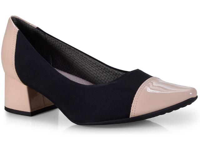 Sapato Feminino Piccadilly 744063 Marfim/preto