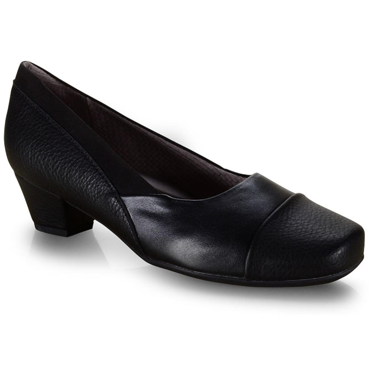 Sapato Feminino Piccadilly 320292-1-1 Preto