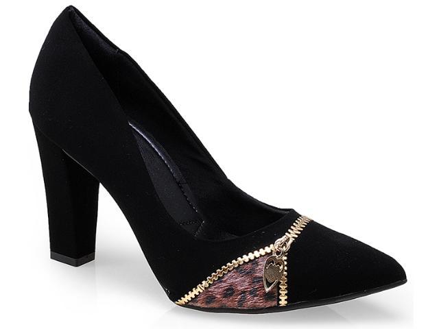 Sapato Feminino Ramarim 14-46103 Preto/chocolate