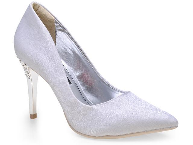 Sapato Feminino Ramarim 14-65203 Prata