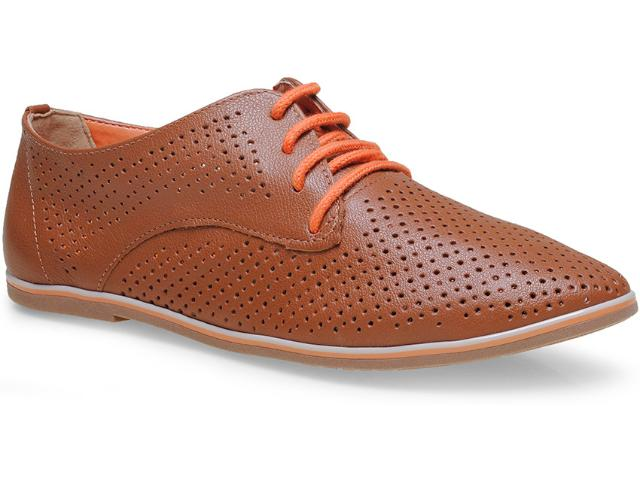 Sapato Feminino Ramarim 15-90101 Caramelo/laranja