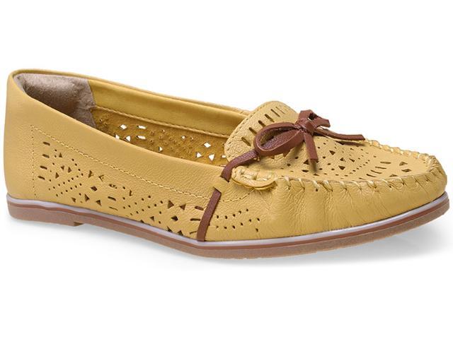 Sapato Feminino Ramarim 15-81103 Amarelo/caramelo