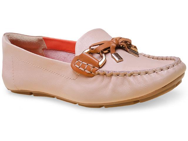 Sapato Feminino Ramarim 15-87206 Amendoa/caramelo
