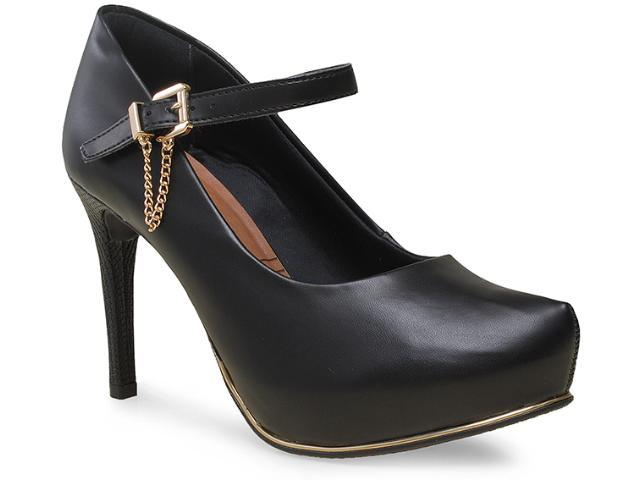 Sapato Feminino Ramarim 15-40103-1 Preto