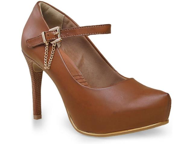 Sapato Feminino Ramarim 15-40103 Caramelo