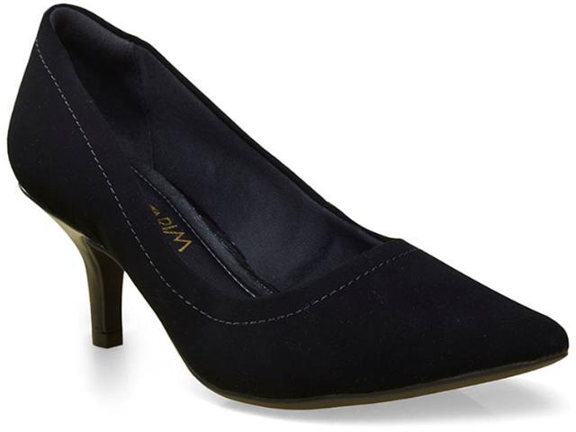 Sapato Feminino Ramarim 16-26202 Preto