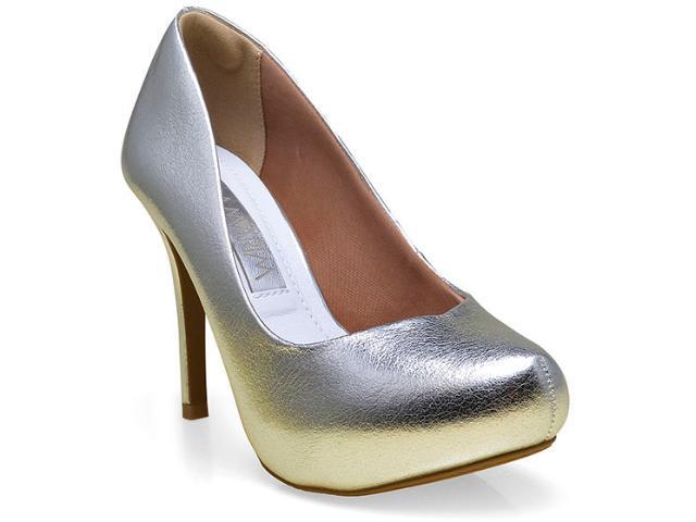 Sapato Feminino Ramarim 16-40201 Prata