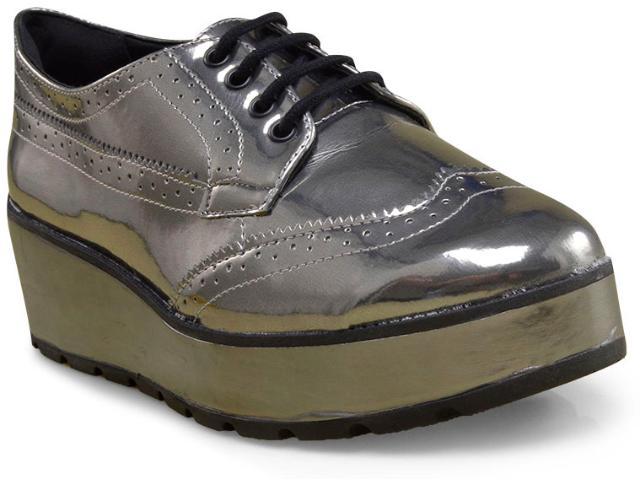 Sapato Feminino Ramarim 17-89101 Prata Velha