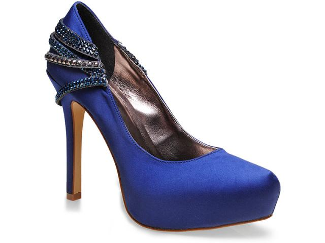 Sapato Feminino Seculo Xxx 903.20573 Azul Bic
