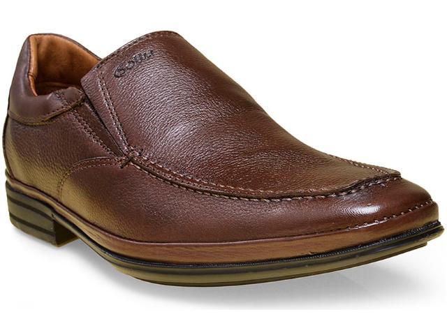 Sapato Masculino Sollu 30202 Café