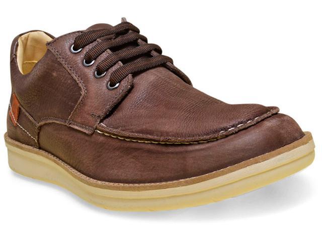 Sapato Masculino Sollu 18003 Café/marrom