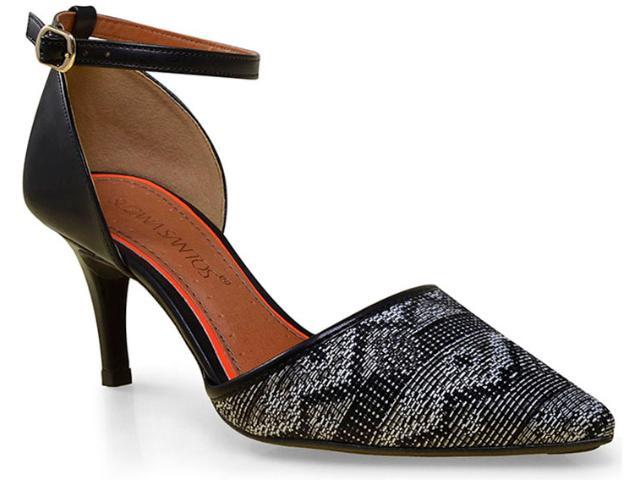 Sapato Feminino Suzana Santos 3167.30858 Preto/branco