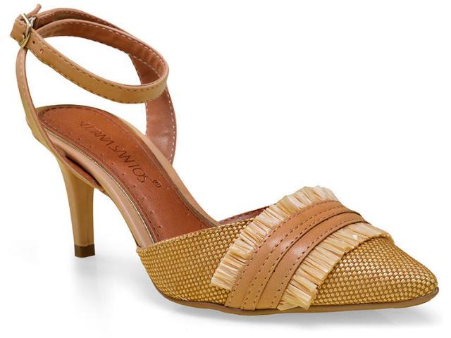 Sapato Feminino Suzana Santos 3167.30850 Cru