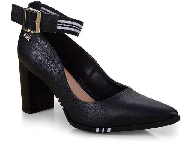 Sapato Feminino Tanara T3323 Preto/branco