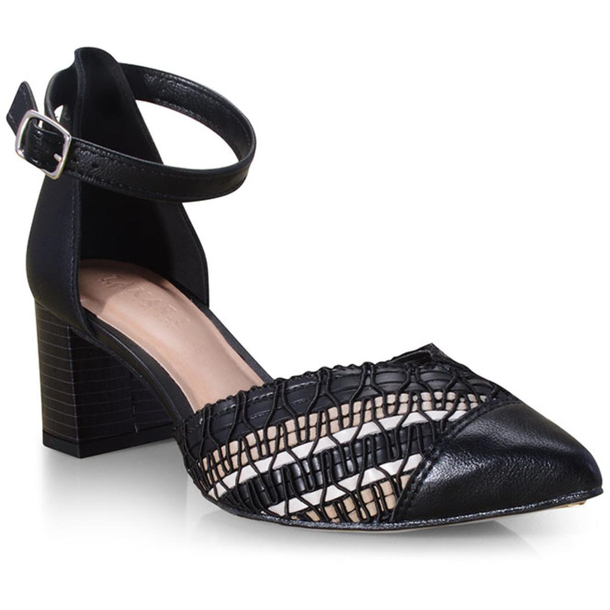 Sapato Feminino Tanara T3461 Preto