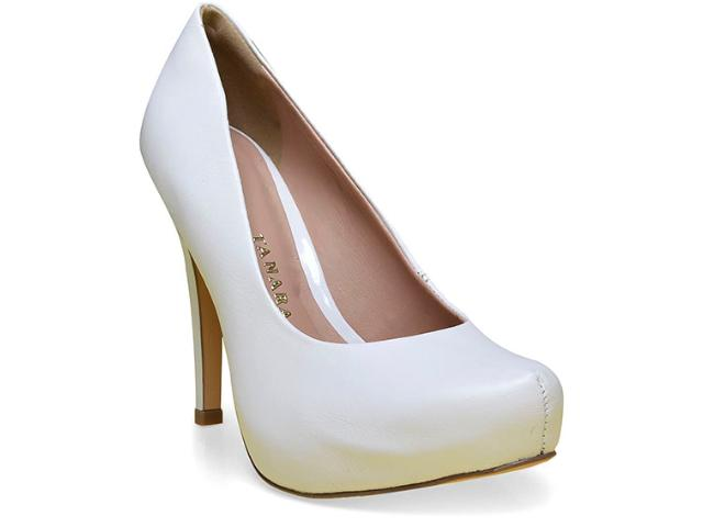 Sapato Feminino Tanara 0161 Branco