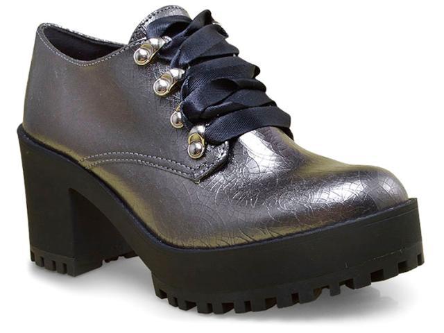 Sapato Feminino Tanara 1321 Prata Velho