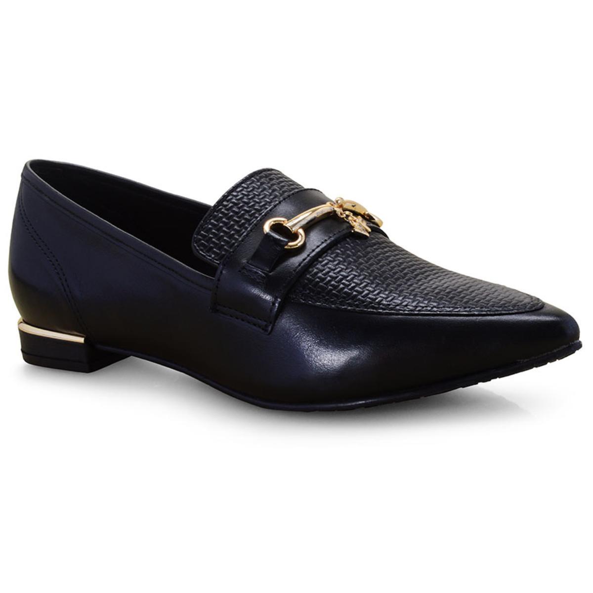 Sapato Feminino Verofatto 6012703 Preto