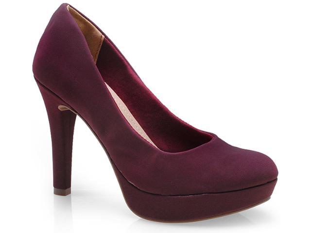 Sapato Feminino Via Marte 14-9801 Merlot