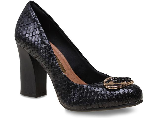 Sapato Feminino Via Marte 15-2902 Preto