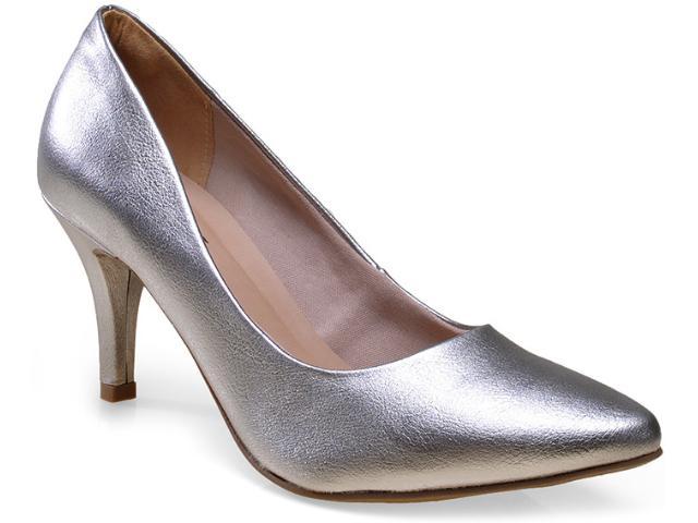 Sapato Feminino Via Marte 14-23401 Prata Velha