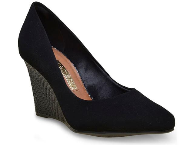 Sapato Feminino Via Marte 16-3806 Preto