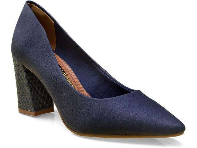 Sapato Feminino Via Marte 16-2101 Marinho